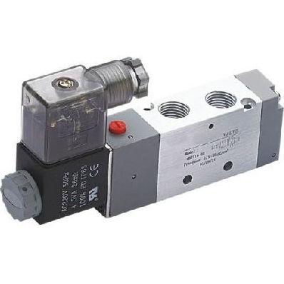 Pneumatik-Wegeventil / Schieber / mit elektrischer Bedienung / 5/2-Wege