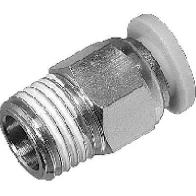 Gewindeanschluss / Schnell / gerade / hydraulisch