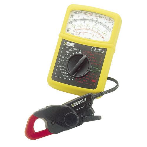 analoges Multimeter / tragbar / 600 V / 10 A
