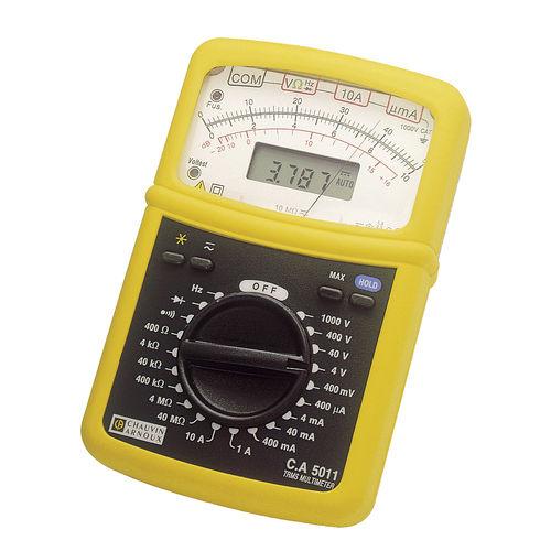 digitales Multimeter / analog / tragbar / 600 V