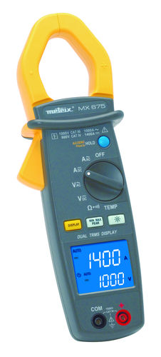digitales Stromzangen-Multimeter / tragbar
