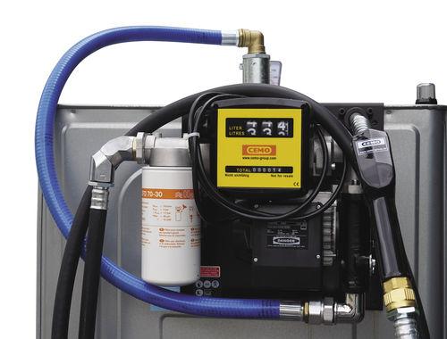 Tank für Diesel / Edelstahl / Polyethylen / Speicher