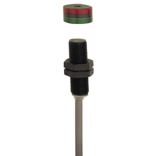 Magnet-Näherungssensor / zylinderformig M12 / IP67 / Sicherheit