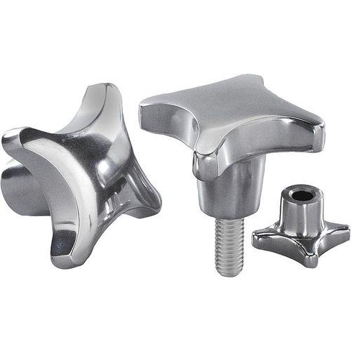 Edelstahlmutter / Aluminium