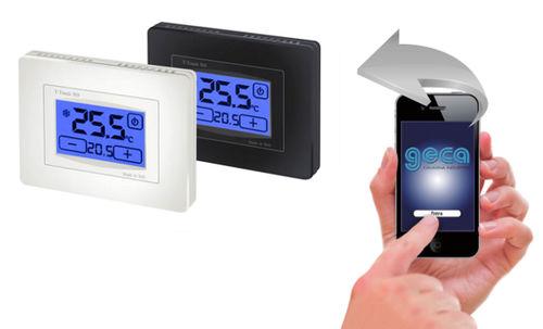 Mobile App / zur Thermostatverwaltung