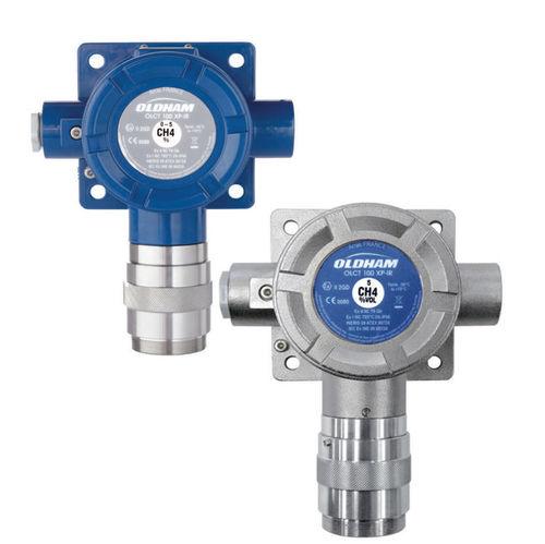 Detektor für brennbare Gase / Giftgas / Sauerstoff / Gas