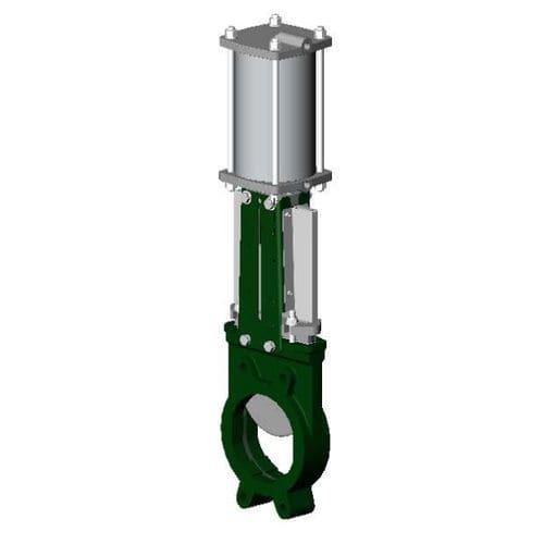 Bidirektionalventil / Absperrschieber / pneumatisch gesteuert / zum Absperren