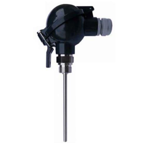 Pt100-Temperatursensor / 2-Leiter / 3 Kabel / für Sanitäranwendungen