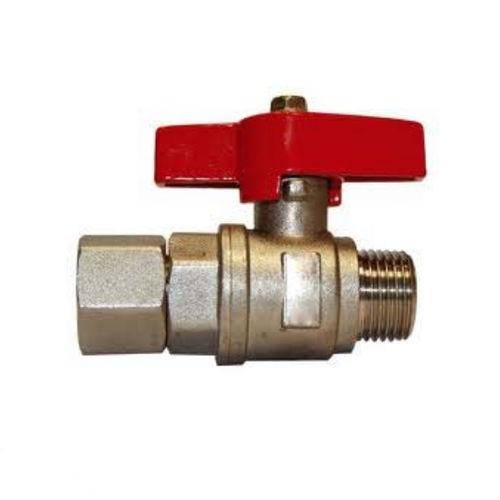 Ventil für Manometer / Kugel / manuell / für Wasser