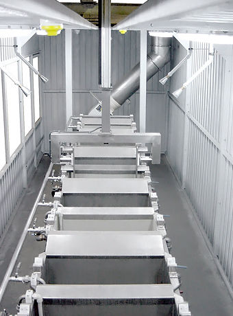 Wasser-Waschsystem / automatisch / Prozess / für die Automobilindustrie