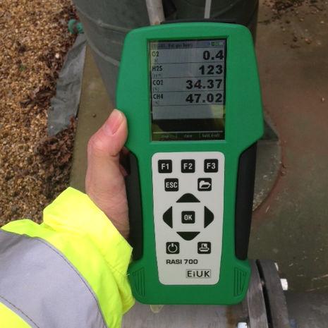 Biogasanalysator / CO / CH4 / Schwefelwasserstoff