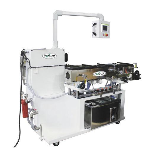 Rohr-Kalibriertank / für Extrusion / Vakuum / für Profile