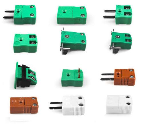 Stromversorgungs-Steckverbinder / Edelstahl / Miniatur / Inline