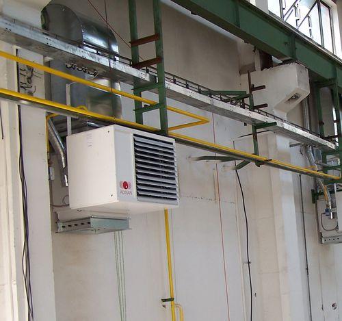 stationärer Heißluftgenerator / Gas