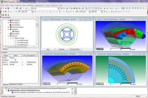 Software / Simulations für elektromagnetische Felder / 3D / 2D