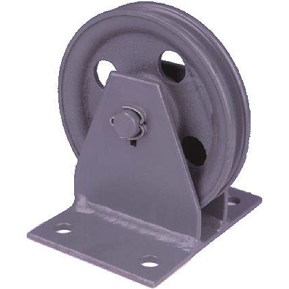 Rollen-Umlenkrolle / für Stahlseil / vertikal