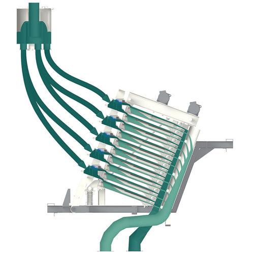 Vibrationssiebmaschine / für Schüttgut / für Steinbrüche / Feucht
