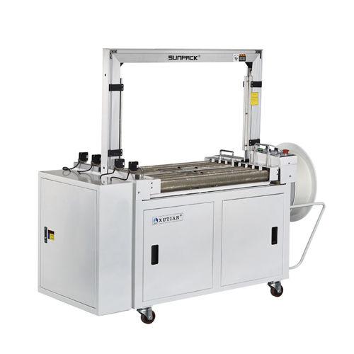 vollautomatische Umreifungsmaschine / für Schachteln / mobil / vertikal
