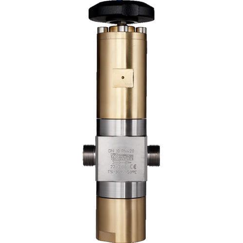 Hochdruck Ventil / Kugelsitz / manuell / für Gas