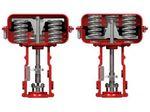 pneumatischer Ventilantrieb / Linear / Kolben / Federrückstellung