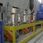 Filter mit Druckluft / Patronen / ausgerichtet / Prozess