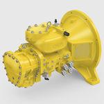 Gaskompressor / stationär / elektrisch / Schrauben