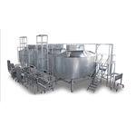 automatische Käseproduktionsanlage