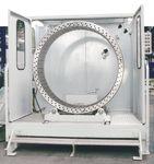 Reinigungsanlage für die holzverarbeitende Industrie / Hochdruck / umweltfreundlich