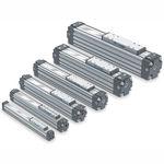 Linearantrieb / pneumatisch / kompakt