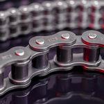 Kette für Antrieb / Stahl / Rollen / für Industrieanwendungen