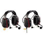 lärmdämpfende Headset Kopfhörer und Mikrofon