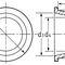 konischer Stopfen / gewindelos / Polyethylen mit niedriger Dichte LDPE / Sicherheit