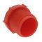 zylinderförmiger Stopfen / Gewinde / Polyethylen / Sicherheit