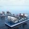Turbinenkraftwerk / schwimmendSIEMENS Power Genereration