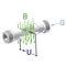 Durchflussmesser für leitende Flüssigkeit / Inline