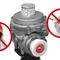 Gasleckdetektor / druckgesteuert / tragbar / kompakt