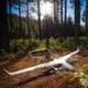hybride Drohne / für Luftaufnahmen / Überwachung / Kohlefaser