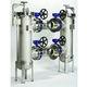Flüssigkeitsfilter / Korb / Duplex / kontinuierlich