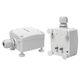 Flüssigkeits-Leckdetektor / mit optischem Alarm / Signalton / für Gebäude
