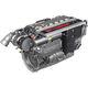 Verbrennungsmotor für Seewasseranwendungen / Diesel / 6-Zylinder / Turbolader
