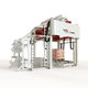 automatische Haubenmaschine / mit Stretchfolie / für Paletten / für die Lebensmittel- und Getränkeindustrie