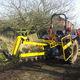 Ketten-Grabenfräse / traktormontiert