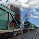 Beladungssystem für Eisenbahnwagons / automatisiert / LKW