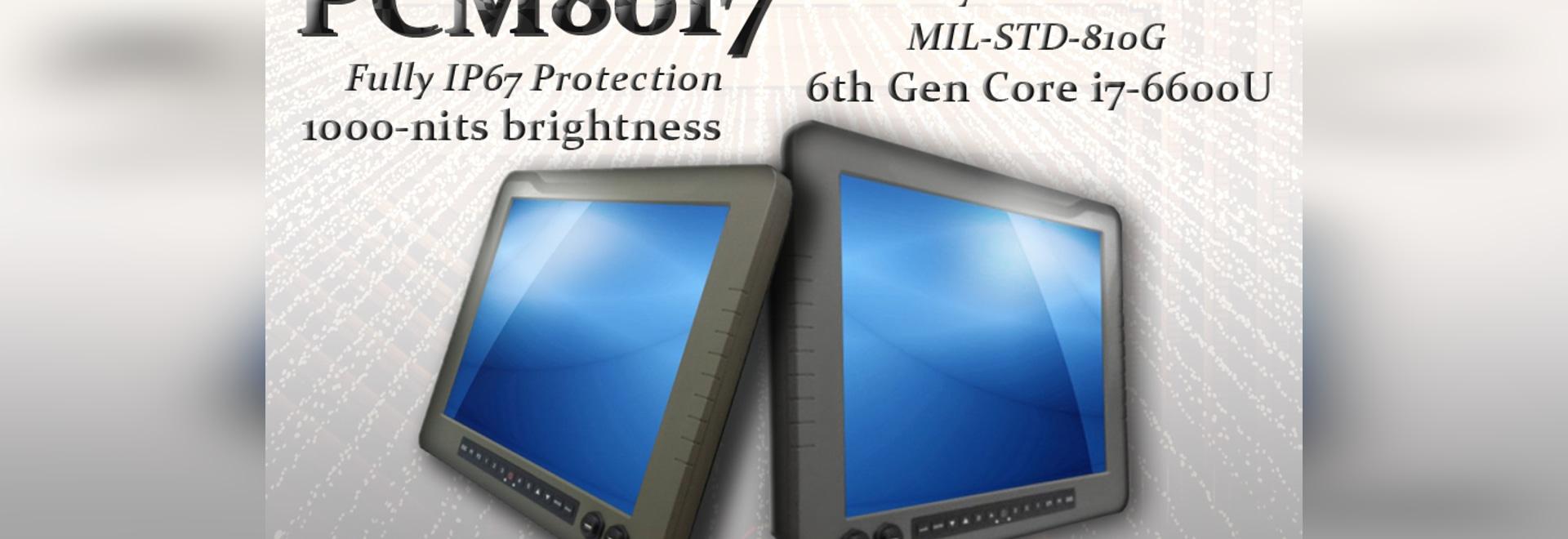 """17"""" Militärgrad-Platte PC kennzeichnet mit 1000 Nissen hoher Helligkeit und ein völlig IP67 veranschlagte schroffe Einschließung"""