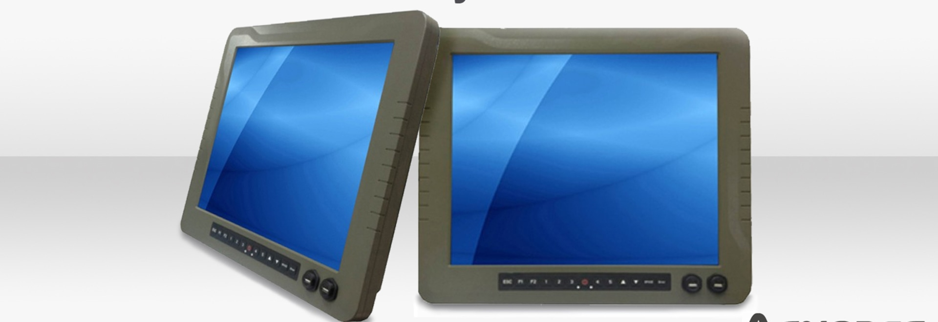 19-Zoll-Militärgrad -Panel-PC-Funktionen 6. Generation Core-i7-6600U 2.6GHz CPU In Vollständig IP67 Robustes Gehäuse