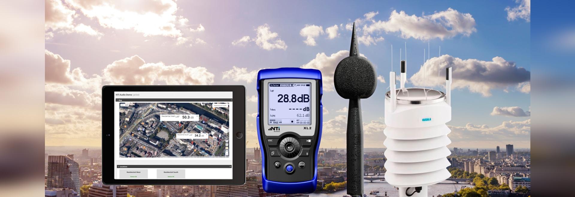 Autarke Lärmmessung: neu mit Erfassung von Wetterdaten