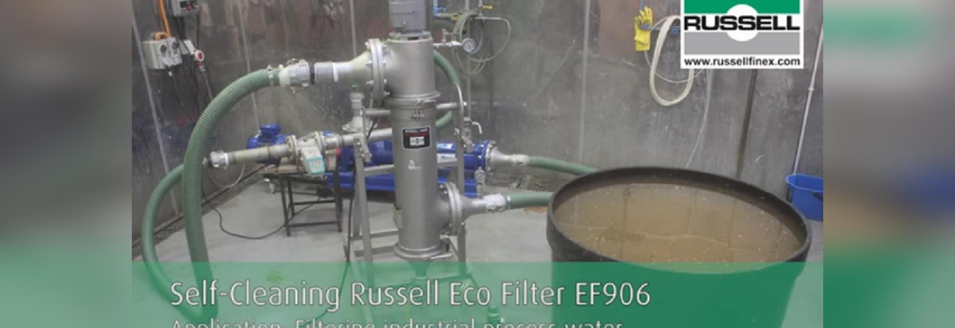 Automatische Selbstreinigungssysteme für industrielles Prozesswasser