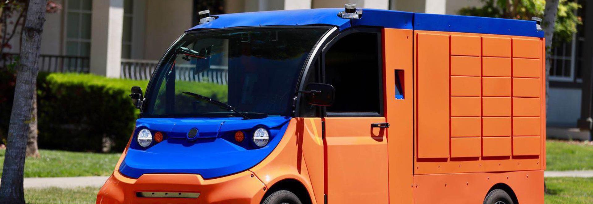 Boxbot führt Last-Mile, selbstfahrendes Paketzustellsystem ein