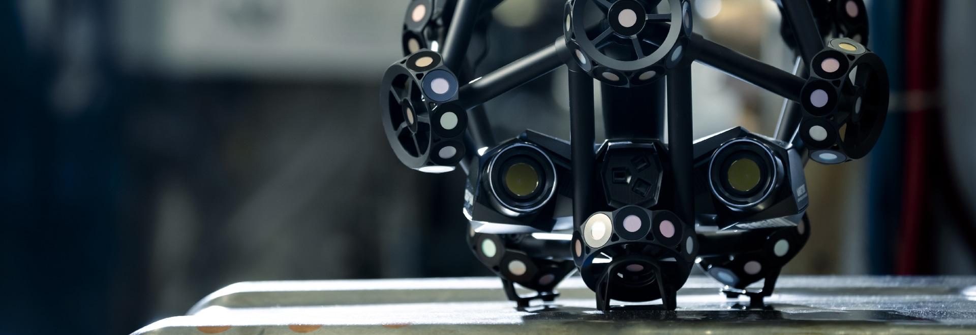 Creaform präsentiert neuen 3D-Scanner MetraSCAN BLACK
