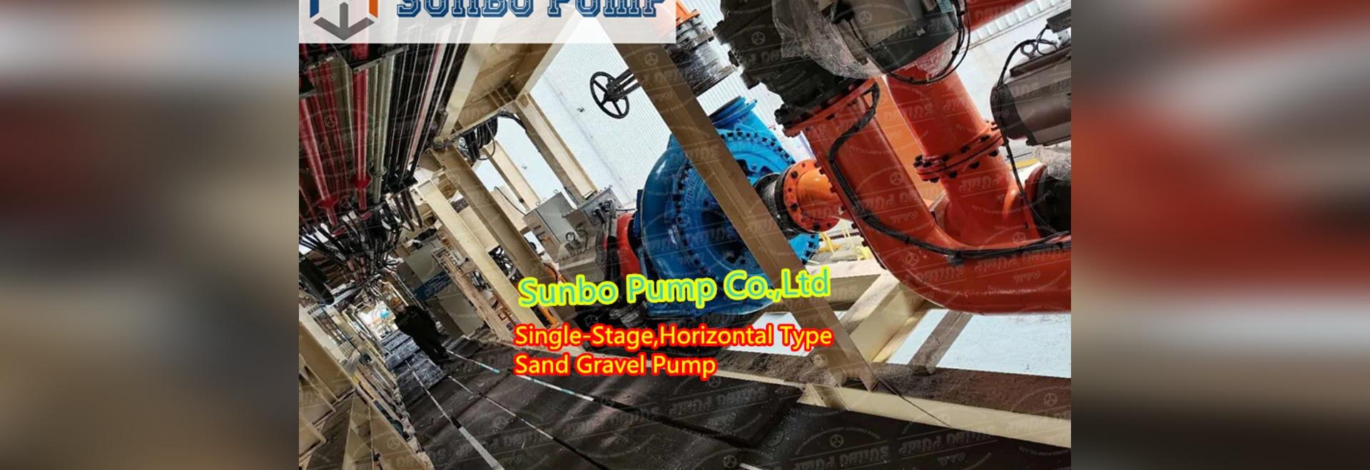 Eingehäusige Sand-Schlammpumpe